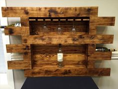 Pallet Glass and Bottle Rack | 99 Pallets