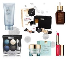 """Cosmetics"" by fivepcncpt on Polyvore featuring Schönheit, Estée Lauder, Bare Escentuals, Chanel und Clarins"