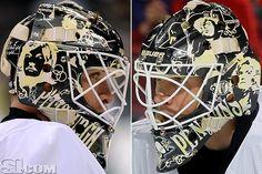 NHL Goalie Masks By Team | ... Penguins - NHL Goalie Masks by Team (2011-12) - Photos - SI.com