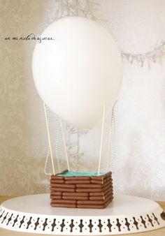tarta cumpleaños infantil globo Tarta Globo... una idea genial para fiestas infantiles