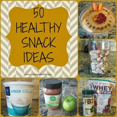 50 Quick & Easy Healthy Snack Ideas from @GeaLenders #Fitfluential #EAT