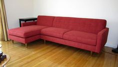 Anders Sofa Chaise   Furniture Envy