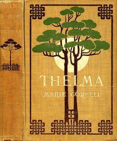illustration UK : couverture de livre, 1900, arbre
