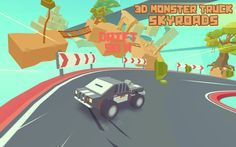 Be careful to the dangerous curves and drifts! Monster Trucks, Curves, 3d, Full Figured, Curvy Women