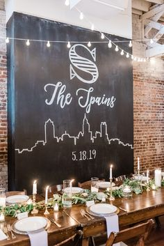 6 x cérém Rectangle Chalkboard Labels-Wedding Decoration-BLACKBOARD Autocollant