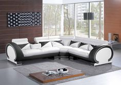 modern sectional sofas white - Google Search