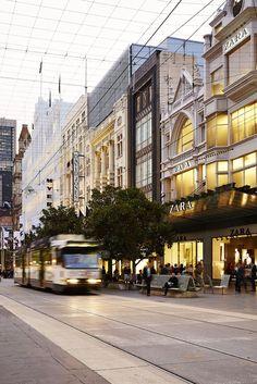 Bourke Street, Melbourne CBD