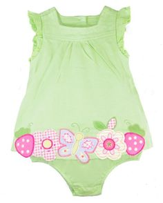 First Impressions Baby Sunsuit, Girls' Sun Dress, « Dress Adds Everyday