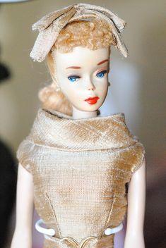 vintage ponytail #3 barbie  all original vintage barbie ponytail #3,  fashion by Lolaxs