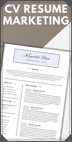 A modern resume template that is easy to edit in Google Docs. No Microsoft Word needed! You'll save time with this template, and ensure that your resume is unique. If you're looking to land the job of your dreams, this resume helps to showcase your skills and accomplishments in the best way possible. #CleanResumeProfile #hairstylistresume #hrresume #nursepractitionerresume #pharmacistresume #resumeobjective #resumeobjectiveexamples