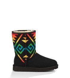 ad836251866a0 http   www.uggaustralia.com women -boots classic-short-pendleton 1007504.html dwvar 1007504 color BLK