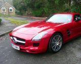 Photo of UK registration number plate KP10NWA / KP10 NWA: Mercedes-Benz SLS http://platewave.com