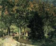 A Lane in the Public Garden at Arles September 1888, Arles Oil on canvas, 73 x 92 cm Rijksmuseum Kröller-Müller, Otterlo