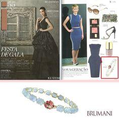 BRUMANI at Iguatemi Magazine! #brumani #bracelet #aquamarine #ruby #diamonds #tourmaline #iguatemi #blue #trend #luxury #gold #jewel #musthave #instafashion #instastyle #lovegold #finejewelry #lookoftheday #chic #glamour #essential #fresh #brazil #mustbuy
