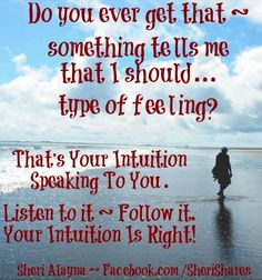 intuition quotes   Listen Your Intuition Quot