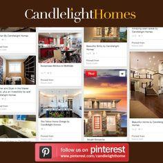 Follow Candlelight on Pinterest to start pinning beautiful home photos! #utah #homebuilder #candlelighthomes