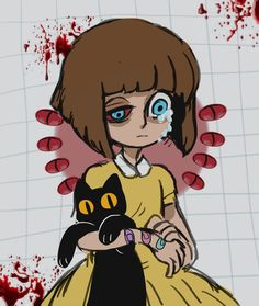 hi mtv welcome to my crib Horror Video Games, Rpg Horror Games, Cartoon Games, Cartoon Shows, Creepypasta Girls, Little Misfortune, Creepy Games, Bow Art, Sally Face Game