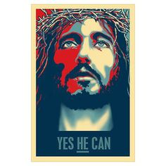 Yes HE Can Poster