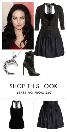 """""""Jade West"""" by charmedgreys ❤ liked on Polyvore featuring Paprika, Lucy Paris, Wet Seal and Balmain"""