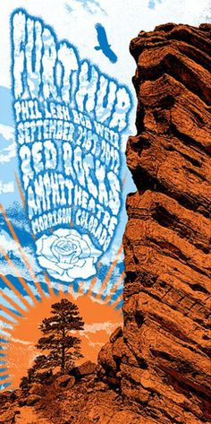 Furthur--another great show at red rocks. Love there music.