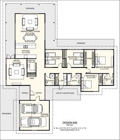 Home Plans On Pinterest House Plans Floor Plans And