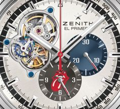 """Limited Edition Zenith Watches El Primero The Rolling Stones Watch - by David Bredan - """"Zenith watches has collaborated with the legendary rock band The Rolling Stones for a new limited watch called the Zenith El Primero Chronomaster 1969 Tribute to the Rolling Stones. It was just a few days ago that we spent some time with Zenith as they exhibited in Las Vegas, and it was then that we learned a major partnership was coming up really soon..."""""""