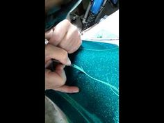 Free hand pinstriping - YouTube