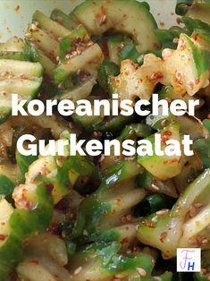 tolle erfrischende Variante zum Grillen im Sommer, der Hit auf jeder Grillparty Eat Smart, Potato Salad, Potatoes, Vegan, Chicken, Ethnic Recipes, Blog, Korean Cuisine, Korean Food Recipes