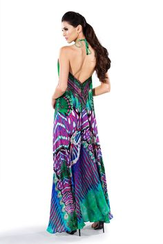 Shahida Parides 3-Way Maxi Dress | Luxury Maxi Dress