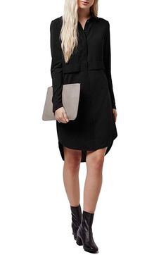 Topshop Hybrid Shirtdress available at #Nordstrom