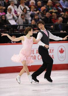 Alexandra Paul and Mitchell Islam, Canadian ice dance team
