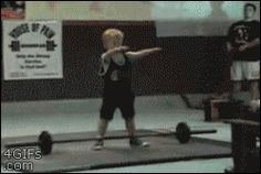 "18 Hilarious Weightlifting GIFs to ""Pump You Up!"" (LOL! Get it?) from GifGuide"