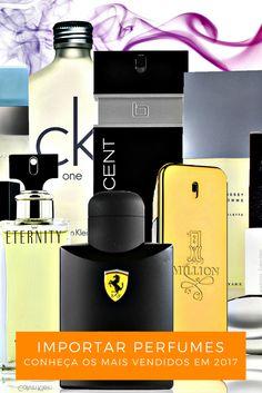 Conheça os Perfumes Importados mais vendidos no Brasil em 2017 #perfumes #perfume #michaelkors #carolinaherrera #perfumeimportado