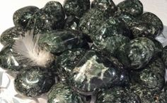 Outstanding gemstone for meditation, connection to angelic realm, & accessing self-healing. Seraphinite inspires living from the heart & cleanses the heart chakra. Crystal resonance to help assess pro