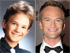 Neil Patrick HarrisWhat a baby face! Neil Patrick Harris is photographed in 1991 for his senior portrait in La Cueva High School in Albuquerque, N.M. An honors student who appeared in many plays and musicals during high school, Harris was just a sophomore when he landed his breakthrough role as a teenage doctor on Doogie Howser, M.D.