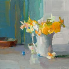 Christine Lafuente, Daffodils and Marbles