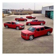 Bagged Trucks, Gm Trucks, Cool Trucks, Chevy Pickups, Chevy Silverado, Ride 2, Fast Times, Classic Chevy Trucks, Sweet Cars