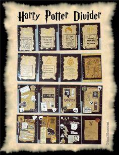 Filofaxing - Harry Potter Planer / Organizer / Kalender - planner love Hogwarts organiser | the blossom's place