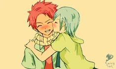 Fairy Tail: Natsu and Lisanna by Odysseix
