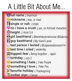"""""""A Little Bit About Me ..."""" by nerdgirl070 ❤ liked on Polyvore"""