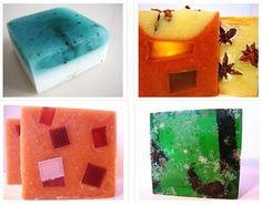 SOAP -4 handmade soaps, pick any 4.  Vegan handmade soap, soap gift, soap set, cold process soap