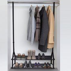 Fancy - Adjustable Shoester Closet Organizer by Umbra