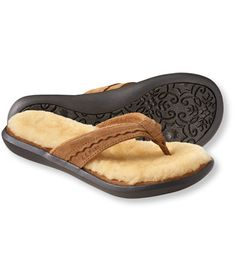 For us that enjoy flip flops year round :) Women's Wicked Good Flip-Flops: Slippers | Free Shipping at L.L.Bean
