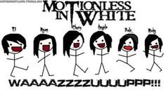 Funny Motionless in White | so here i was bored so here s my remedy d motionless in white baby
