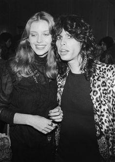 Steven Tyler and Bebe Buell Bebe Buell, Famous Groupies, Steven Tyler Aerosmith, Joe Perry, Liv Tyler, Almost Famous, Rock N Roll, Hot Guys, Celebrities