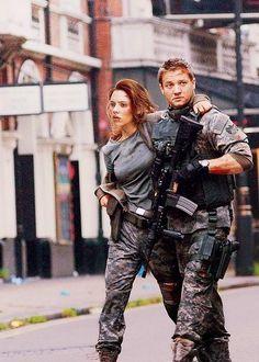 Clint Barton & Natasha Romanoff