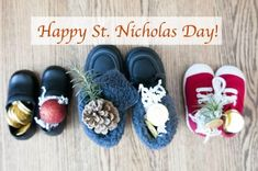 St. Nicholas Day: What it is and why I love it - Between Us Parents Christmas And New Year, Winter Christmas, Winter Holidays, Christmas Time, Catholic Kids, Catholic Saints, Nick Shoes, St Nicholas Day, Holiday Traditions