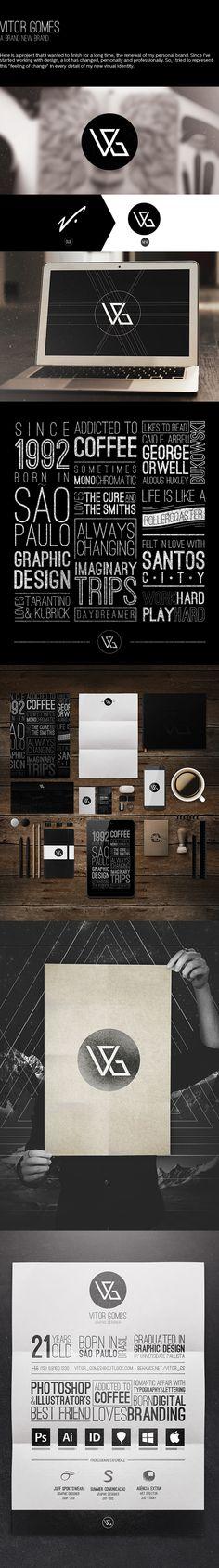 Vitor Gomes - A brand new brand by Vitor Gomes, via Behance