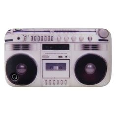 Boombox iPhone Cover - This cool Flash iPhone Cover has a retro Boombox graphic that Fits iPhone Make any music lover or musician in your life happy with a cool accessory for their iPhone. Made of Silicone. x More Great Music Gifts Iphone 4 Case, Iphone Cover, Cool Iphone Cases, Boombox, Any Music, Good Music, Vinyl Record Collection, Thirteen Reasons Why, Drummer Gifts