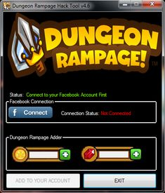 Dungeon Rampage Hack Tool 2015 Download Free No Survey. Dungeon Rampage hack tool allows you with lots of free gems, coins, lives, and unlimited money.